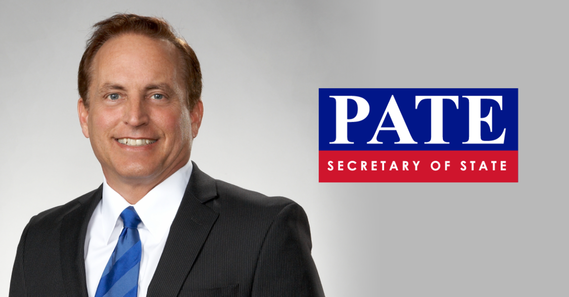 Secretary Pate receives top national certification for election officials